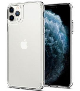 "Skaidrus dėklas Apple iPhone 11 Pro Max telefonui ""Spigen Quartz Hybrid"""