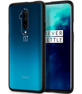 """Matinis juodas dėklas Oneplus 7T Pro telefonui """"Spigen Ultra Hybrid"""""""