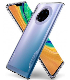 "Skaidrus dėklas Huawei Mate 30 Pro telefonui ""Spigen Ultra Hybrid"""