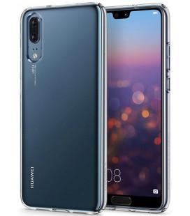 """Skaidrus dėklas Huawei P20 telefonui """"Spigen Liquid Crystal"""""""