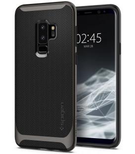 """Pilkas dėklas Samsung Galaxy S9 Plus telefonui """"Spigen Neo Hybrid"""""""