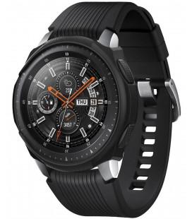 """Juodas dėklas Samsung Galaxy Watch 46mm laikrodžiui """"Spigen Liquid Air"""""""
