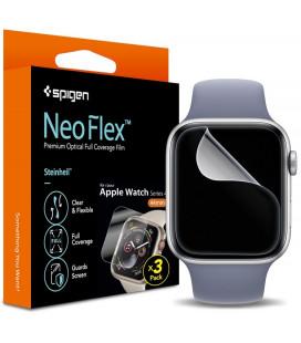 """Apsauginės ekrano plėvelės Apple Watch 4/5/6/SE (44mm) """"Spigen Neo Flex HD"""""""