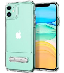"""Skaidrus dėklas Apple iPhone 11 telefonui """"Spigen Slim Armor Essential S"""""""
