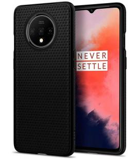 """Juodas dėklas Oneplus 7T telefonui """"Spigen Liquid Air"""""""