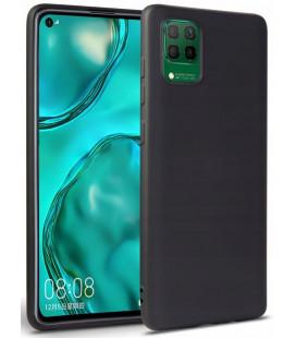 """Juodas dėklas Huawei P40 Lite telefonui """"Tech-protect Icon"""""""