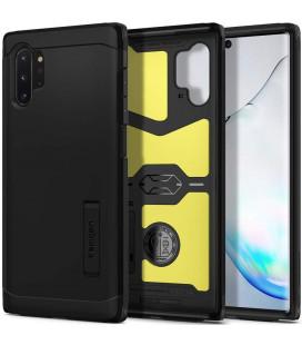 """Juodas dėklas Samsung Galaxy Note 10 Plus telefonui """"Spigen Tough Armor"""""""