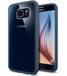 "Pilkas dėklas Samsung Galaxy S6 telefonui ""Spigen Ultra Hybrid"""