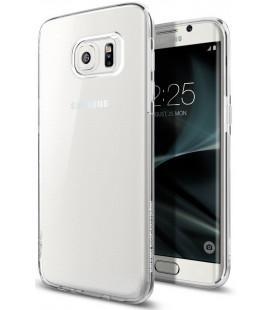 "Skaidrus dėklas Samsung Galaxy S7 Edge telefonui ""Spigen Liquid Crystal"""