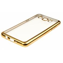 """Auksinės spalvos silikoninis dėklas Samsung Galaxy J5 2016 J510 Telefonui """"Glossy"""""""