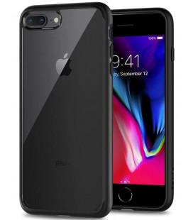"Juodas dėklas Apple iPhone 7 Plus / 8 Plus telefonui ""Spigen Ultra Hybrid 2"""