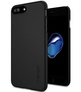 "Juodas dėklas Apple iPhone 7 Plus / 8 Plus telefonui ""Spigen Thin Fit"""