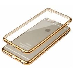 """Auksinės spalvos silikoninis dėklas Apple iPhone 6/6s Telefonui """"Glossy"""""""