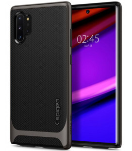"Pilkas dėklas Samsung Galaxy Note 10 Plus telefonui ""Spigen Neo Hybrid"""