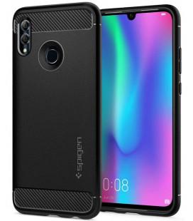 """Juodas dėklas Huawei P Smart 2019 telefonui """"Spigen Rugged Armor"""""""