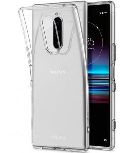 "Skaidrus dėklas Sony Xperia 1 telefonui ""Spigen Liquid Crystal"""