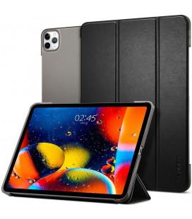 """Juodas atverčiamas dėklas Apple iPad Pro 12.9 2020 planšetei """"Spigen Smart Fold"""""""