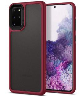 """Raudonas dėklas Samsung Galaxy S20 Plus telefonui """"Spigen Ciel Color Brick"""""""