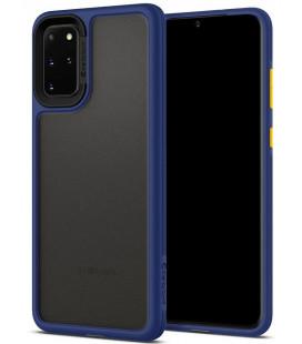 "Mėlynas dėklas Samsung Galaxy S20 Plus telefonui ""Spigen Ciel Color Brick"""