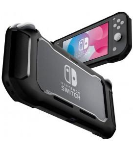 """Juodas dėklas Nintendo Switch Lite žaidimų kompiuteriui """"Spigen Rugged Armor"""""""