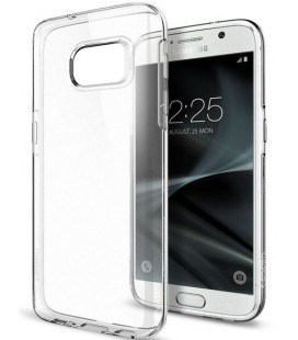 "Skaidrus dėklas Samsung Galaxy S7 telefonui ""Spigen Liquid Crystal"""