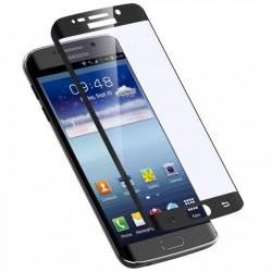"""Stiklo apsauga - lenktas juodas grūdintas stiklas """"Tempered Glass"""" Samsung Galaxy S7 Edge G935 telefonui."""