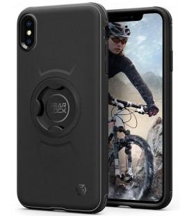 "Juodas dėklas Apple iPhone XS Max telefonui ""Spigen Gearlock CF103"""