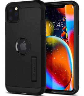 "Juodas dėklas Apple iPhone 11 Pro Max telefonui ""Spigen Tough Armor"""