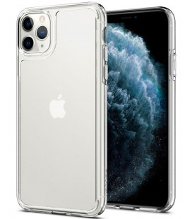 "Skaidrus dėklas Apple iPhone 11 Pro telefonui ""Spigen Quartz Hybrid"""