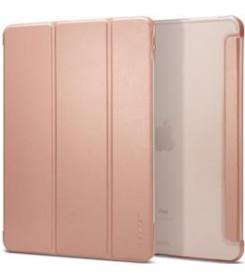 """Rausvai auksinės spalvos atverčiamas dėklas Apple iPad Pro 12.9 2018 planšetei """"Spigen Smart Fold"""""""