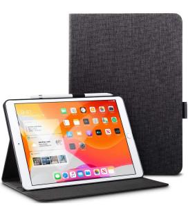"""Juodas atverčiamas dėklas Apple iPad 10.2 2019 planšetei """"ESR Simplicity Pencil"""""""