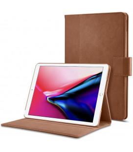 """Rudas atverčiamas dėklas Apple iPad 9.7 2017/2018 planšetei """"Spigen Stand Folio"""""""