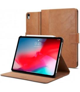 """Rudas atverčiamas dėklas Apple iPad Pro 11 2018 planšetei """"Spigen Stand Folio"""""""