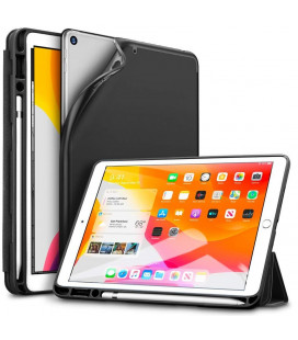 """Juodas atverčiamas dėklas Apple iPad 10.2 2019 planšetei """"ESR Rebound Pencil"""""""