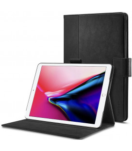 """Juodas atverčiamas dėklas Apple iPad Pro 10.5 planšetei """"Spigen Stand Folio"""""""