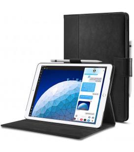 """Juodas atverčiamas dėklas Apple iPad Air 3 2019 planšetei """"Spigen Stand Folio"""""""