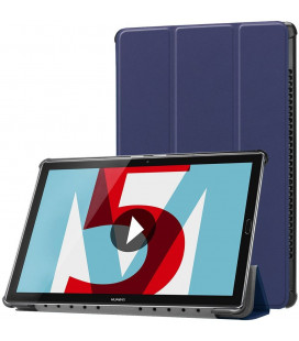 """Mėlynas atverčiamas dėklas Huawei Mediapad M5 10.8 / M5 Pro planšetei """"Tech-Protect Smartcase"""""""