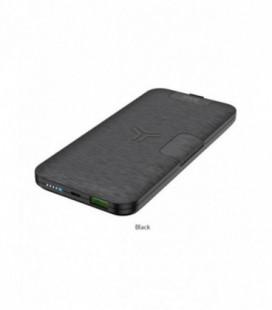 Išorinė baterija Power Bank Hoco S16 Type-C PD+10W su bevieliu įkrovimu 10000mAh juoda