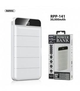 Išorinė baterija Power Bank Remax RPP-141 30000mAh balta