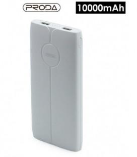 Išorinė baterija Power Bank Proda PD-P22 10000mAh balta
