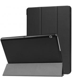 """Juodas atverčiamas dėklas Huawei Mediapad T3 10.0 planšetei """"Tech-Protect Smartcase"""""""