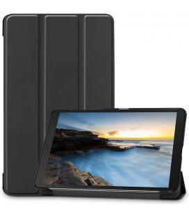 """Juodas atverčiamas dėklas Samsung Galaxy Tab A 8.0 2019 T290 planšetei """"Tech-Protect Smartcase"""""""