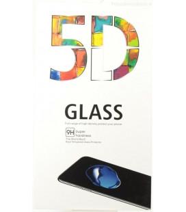 LCD apsauginis stikliukas 5D Full Glue Xiaomi Redmi Note 8 Pro lenktas juodas