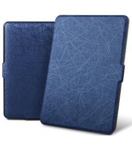 """Mėlynas atverčiamas dėklas Amazon Kindle Paperwhite 1/2/3 skaityklei """"Tech-Protect Smartcase"""""""