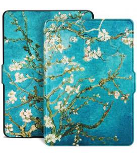 """Atverčiamas dėklas (Sakura) Amazon Kindle Paperwhite 1/2/3 skaityklei """"Tech-Protect Smartcase"""""""