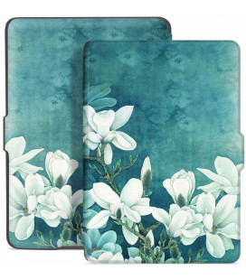 "Atverčiamas dėklas (Magnolia) Amazon Kindle Paperwhite 1/2/3 skaityklei ""Tech-Protect Smartcase"""