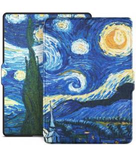"""Atverčiamas dėklas (Night) Amazon Kindle Paperwhite 1/2/3 skaityklei """"Tech-Protect Smartcase"""""""