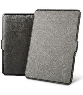 """Pilkas atverčiamas dėklas Amazon Kindle Paperwhite 1/2/3 skaityklei """"Tech-Protect Smartcase"""""""