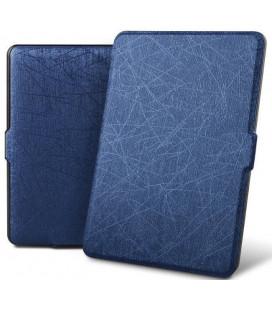 """Mėlynas atverčiamas dėklas Amazon Kindle Paperwhite IV/4 skaityklei """"Tech-Protect Smartcase"""""""
