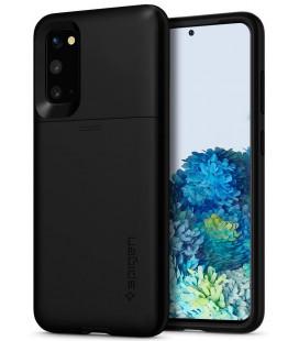 "Juodas dėklas Samsung Galaxy S20 telefonui ""Spigen Slim Armor CS"""